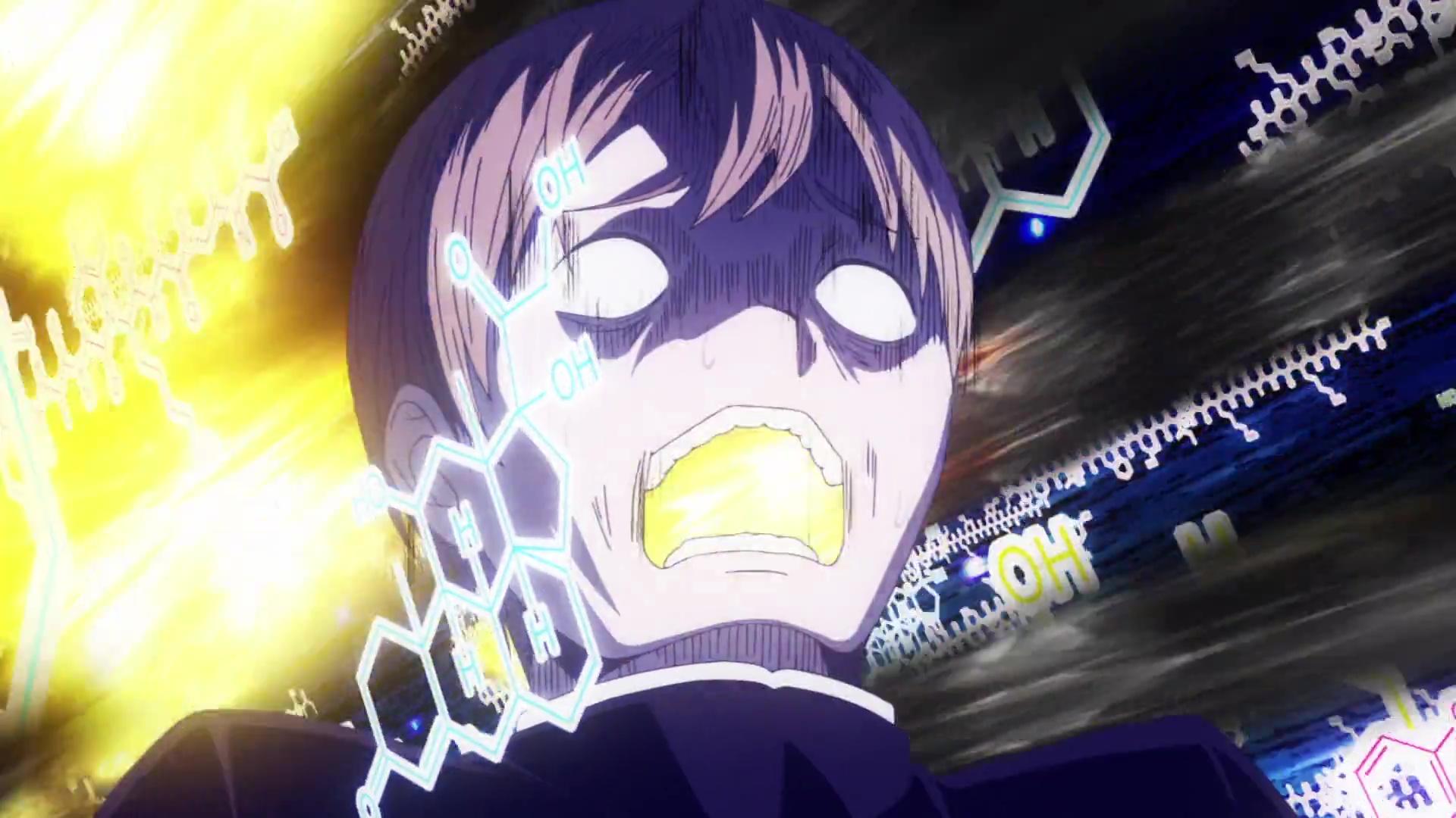 Shirogane in pain after Kaguya gives him hand massage in Kaguya sama love is war season 2 episode 7