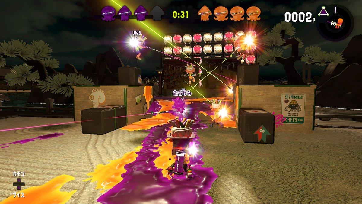 フェス楽しすぎる・・・! ナイス10倍!お疲れ様でした! #Splatoon2 #スプラトゥーン2 #NintendoSwitch