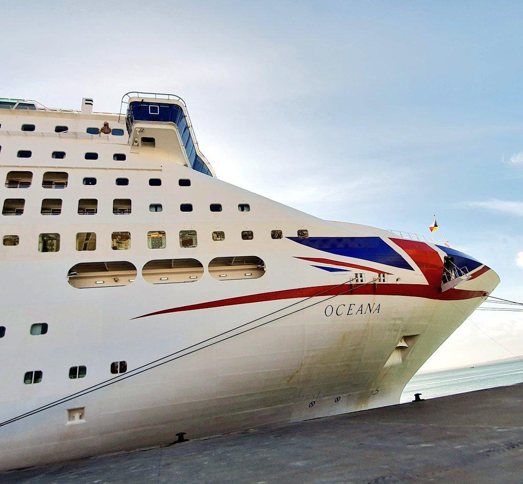 The fabulous P&O Oceana docked in Lisbon in March  She is definitely one of my favourite ships -  which is yours? #pandocruises #oceana #cruise #cruises #cruising #cruiseblogger #cruiseaddict #choosecruise #cruisecollective #WeWillBeBack #cruiseship #lisbonpic.twitter.com/Rf6FtpMCty