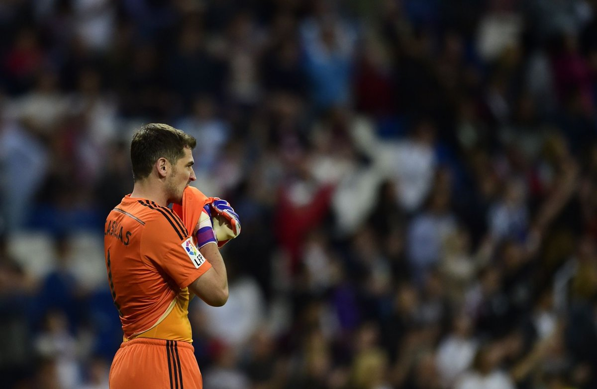 #OnThisDay in 2015, @IkerCasillas played his last game for Real Madrid in a 7-3 win over Getafe. 🧤 https://t.co/736TJ4XSRJ