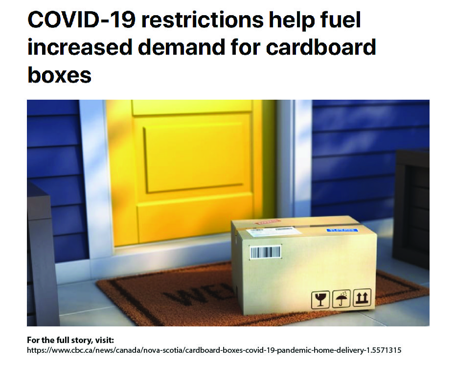"""""""The simple cardboard box, often ignored in favour of the contents it holds, is helping Canadians stay home to prevent the spread of COVID-19""""  Thank you for the feature, CBC! #CBC #corrugated #essential #moorepackaging #Sustainability #packaging #recycle https://t.co/kQ6LE2q09Z"""