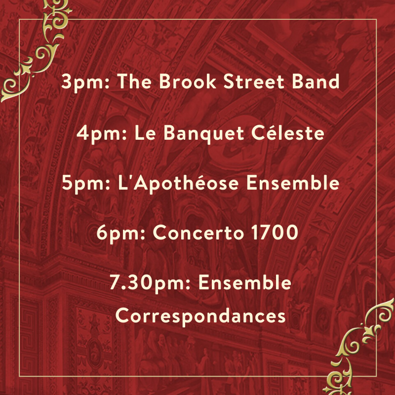 On what would have been the final day of the London Festival of Baroque Music 2020, we'll be posting clips from a few of our scheduled artists across the afternoon.  Follow us on Facebook, Twitter, and Instagram to make sure you're the first to watch! https://t.co/Ny1AWcORb6