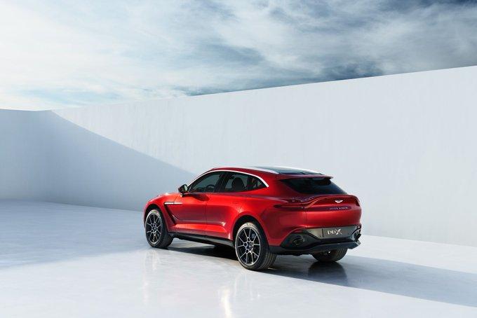 DBX is unmistakably Aston Martin.…