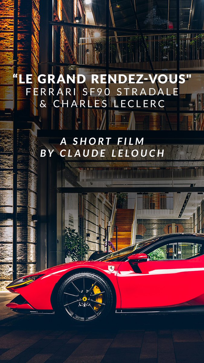 This should have been the Qualifying day of my home GP.  Due to the situation, the GP has been cancelled but thanks to @Ferrari & @scuderiaferrari, I will be able to drive around the track tomorrow for a short movie produced by Claude Lelouch. I can't wait to drive again ! https://t.co/tnL7Y6r3ZP