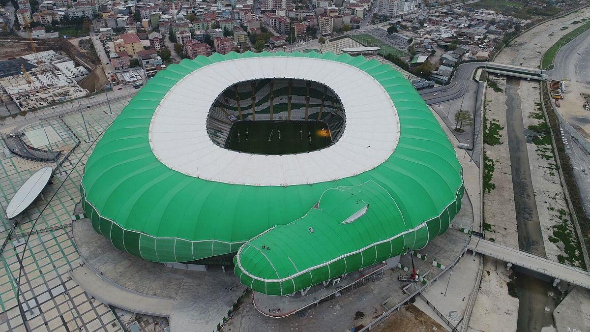 стадионы турции фото