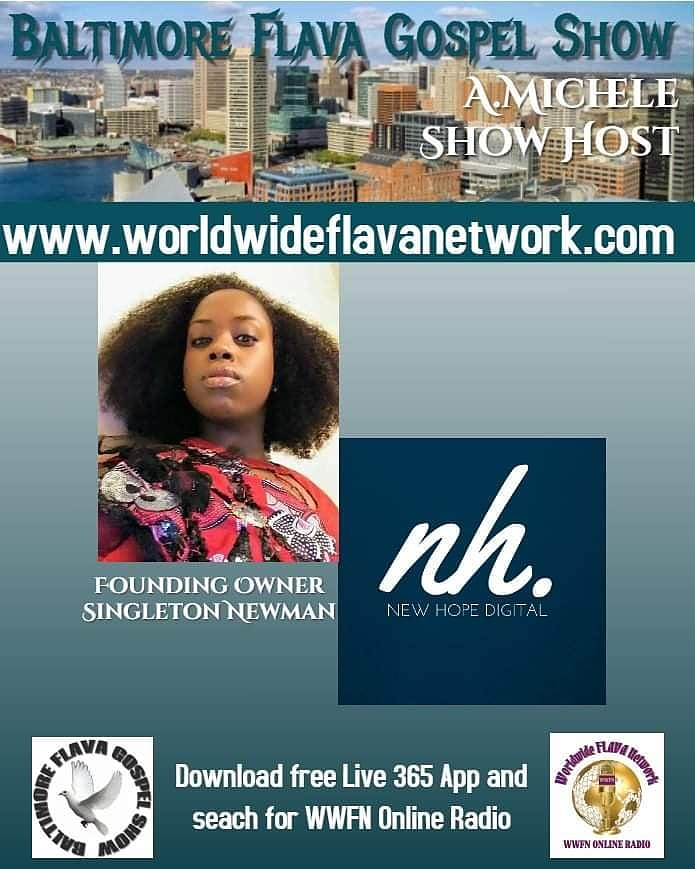 I'm going to be a guest on WWFN online radio tomorrow 5/24 at 10 AM EST. To watch the Facebook live stream visit  http://www. worldwideflavanetwork.com    . #NewHopeDigital #SocialMediaManagement <br>http://pic.twitter.com/OM0tb5aik2
