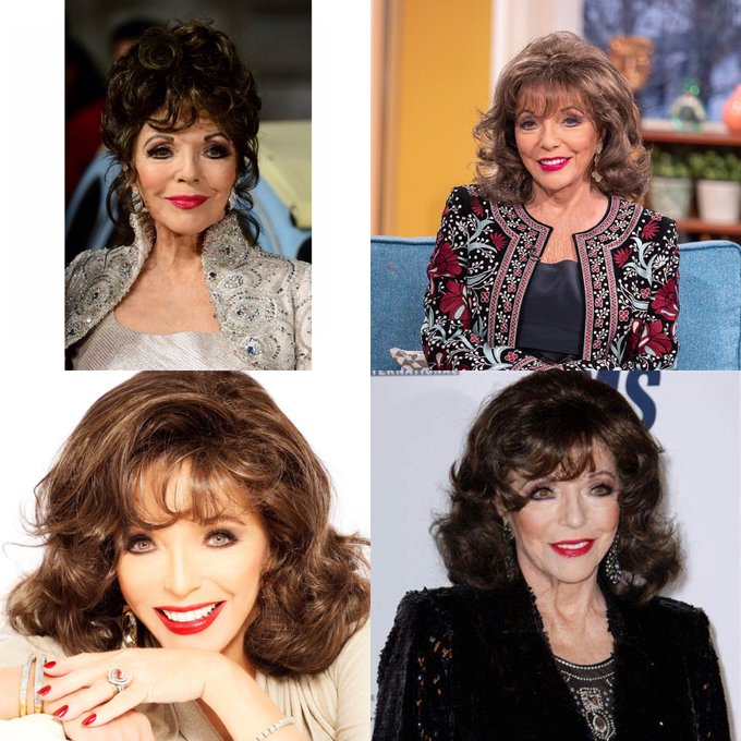 Happy 68 birthday Joan Collins.hope that she has a wonderful birthday.