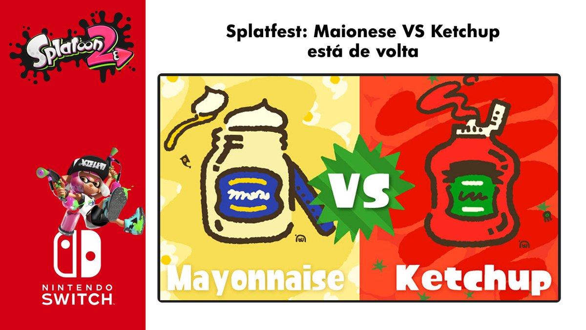 Splatfest: Maionese VS Ketchup está de volta!  Assista o vídeo e seja legal inscreva-se no canal: 🤣  #nintendo #nintendospace #Splatfest #Splatoon2 #game #games #gamers #gamer #gaming #Videogame #videogames #youtubechannel #youtube #NintendoSwich