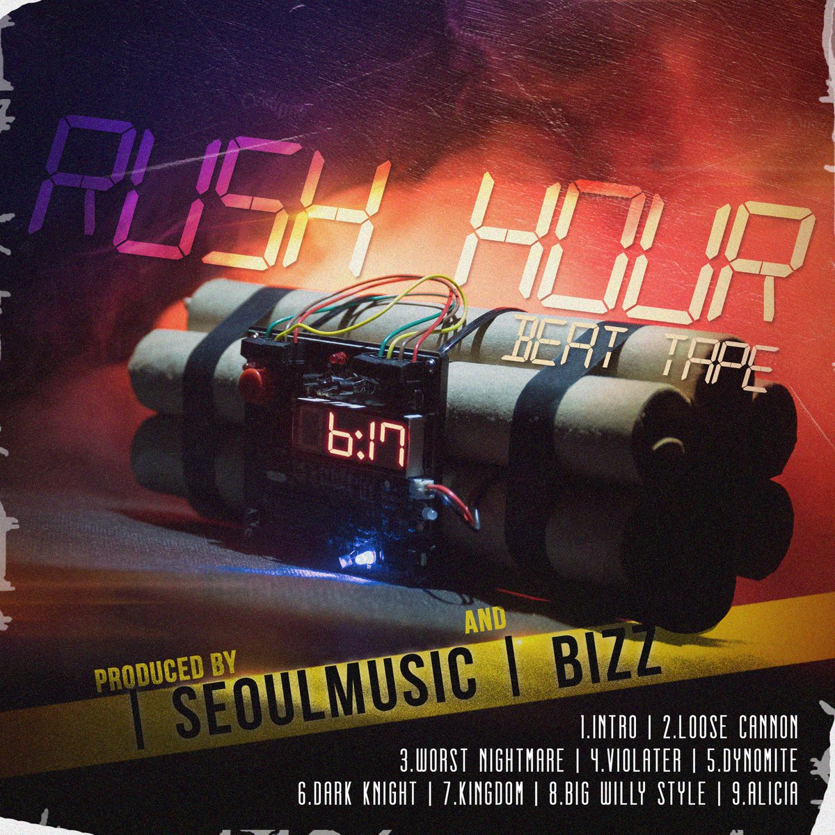Rush Hour beat tape out now! Link in bio!  Cover art by @DeeLoopz  #beattape #rushhour #boston #ListenToThis #NewMusic #producer #producerlife #Flstudio #studiolife #Rappers #nyc #beatmaker #coverart #promotion #dopemusic #dopebeats #pressplaypic.twitter.com/Rgb7Pv2osm