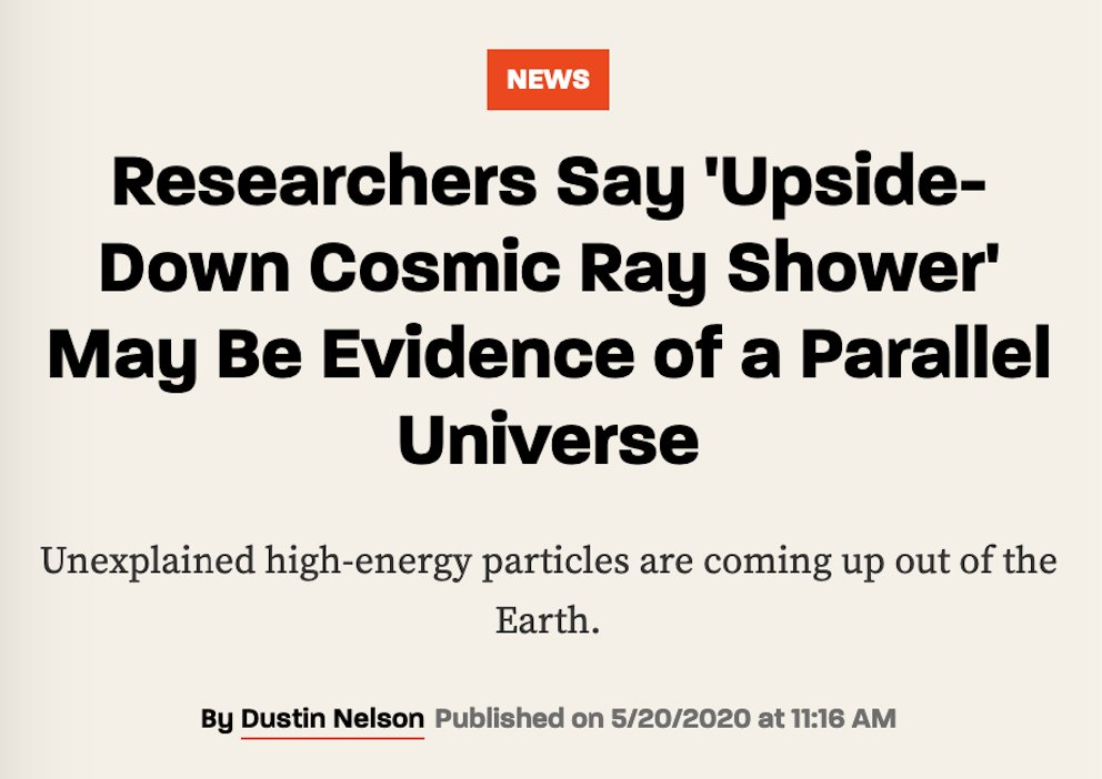 Scientists wonder if these particles are signs of a Parallel Universe. In a way, they are. Theyre being emitted from giant crystals under the ice, that are programmed by Friends, to serve an important role for the Shift to a parallel 5D Earth. #SHEEN thrillist.com/news/nation/na… twitter.com/Kabamur_Tayget…