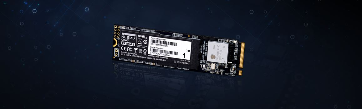 KLEV Announces the CRAS C710 NVMe M.2 SSD, An SSD Lineup Which Features Write Speeds of Up to 2,100 MB/s dlvr.it/RXCr8X