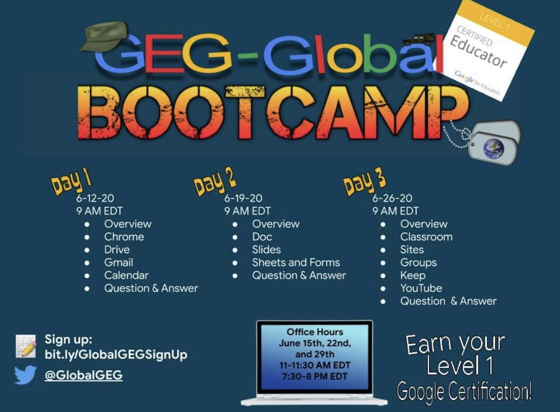 Looking to get Google Level 1 Certified? Here's a great place to start 🤩 @GlobalGEG