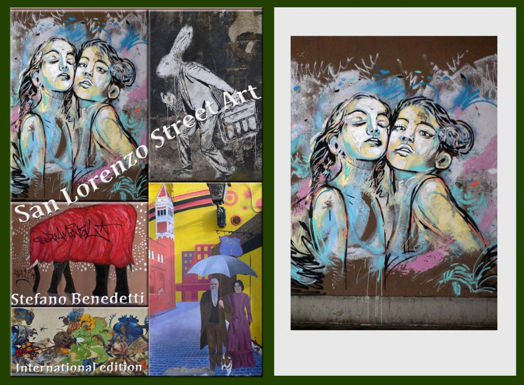 °-*  The best #Street #Art made in #Roma in the historic San #Lorenzo district - Hundreds of large-format color photographs on glossy paper + text ...