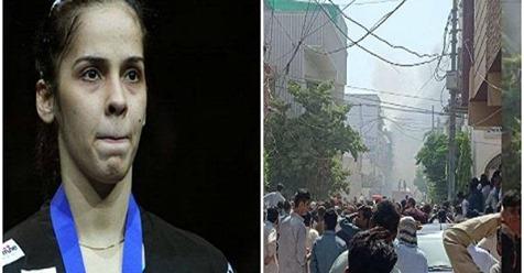 ਪਾਕਿ ਪਲੇਨ ਕ੍ਰੈਸ਼ 'ਤੇ ਸਾਇਨਾ ਨੇ ਕੀਤਾ ਟਵੀਟ, ਪ੍ਰਸ਼ੰਸਕ ਬੋਲੇ- ਮਜ਼ਦੂਰਾਂ ਦੇ ਮਰਨ 'ਤੇ ਕਿਉਂ ਨਹੀਂ ਪ੍ਰਗਟਾਇਆ ਦੁੱਖhttps://jagbani.punjabkesari.in/national/news/saina-tweeted-on-karachi-plane-crash-pakistan-1205771… #Pakistan #Tragedy #SainaNehwal #Tweetpic.twitter.com/OWDqi4a3Eg