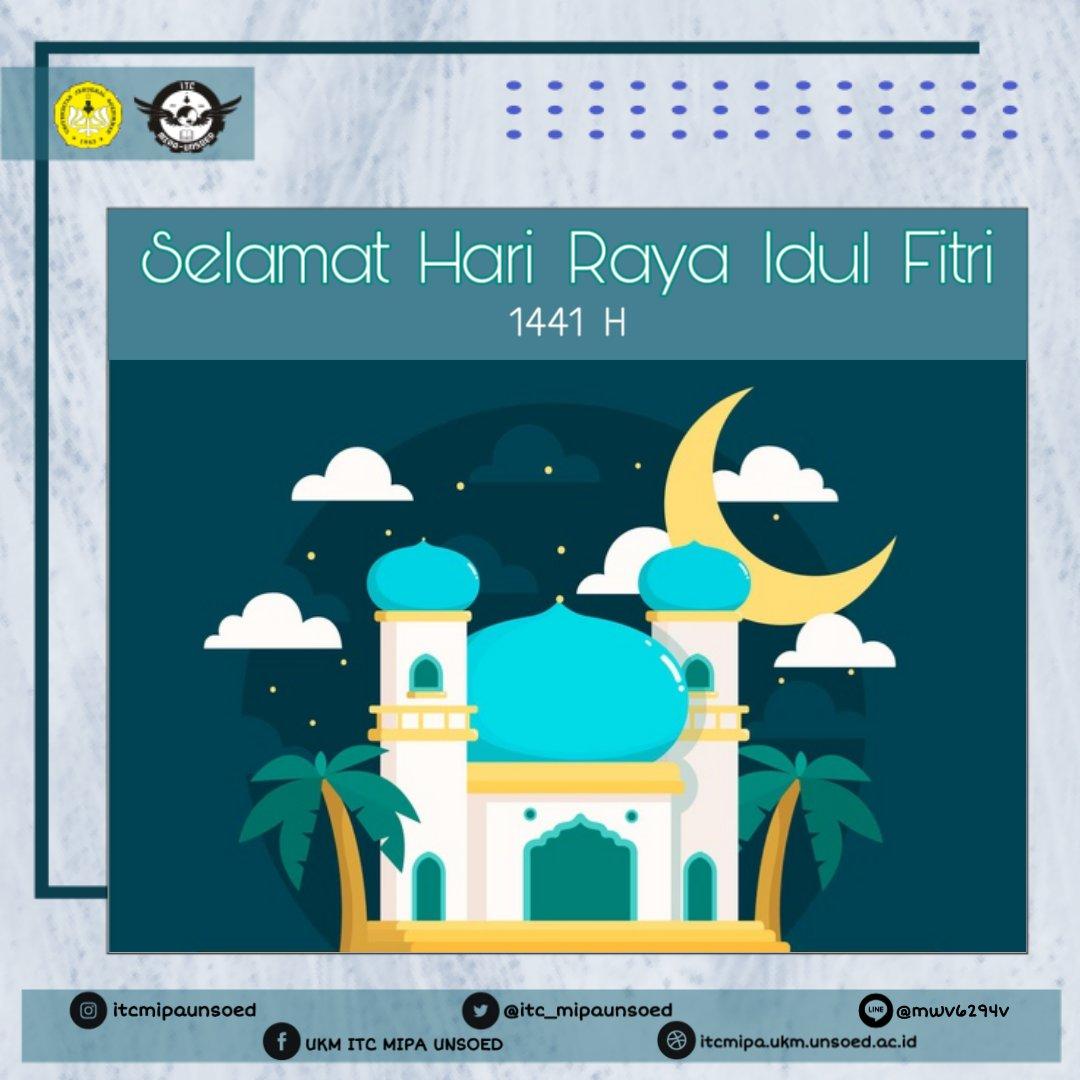 [Hari Raya Idul Fitri]  Selamat Hari Raya Idul Fitri 1441 H. Taqabbalallahu minna wa minkum. Minal aidzin wal faidzin, mohon maaf lahir dan batin.  #CerdasBersamaTeknologi #Instatechnology #SalamTechnoscientistpic.twitter.com/kAUEZSlNj9