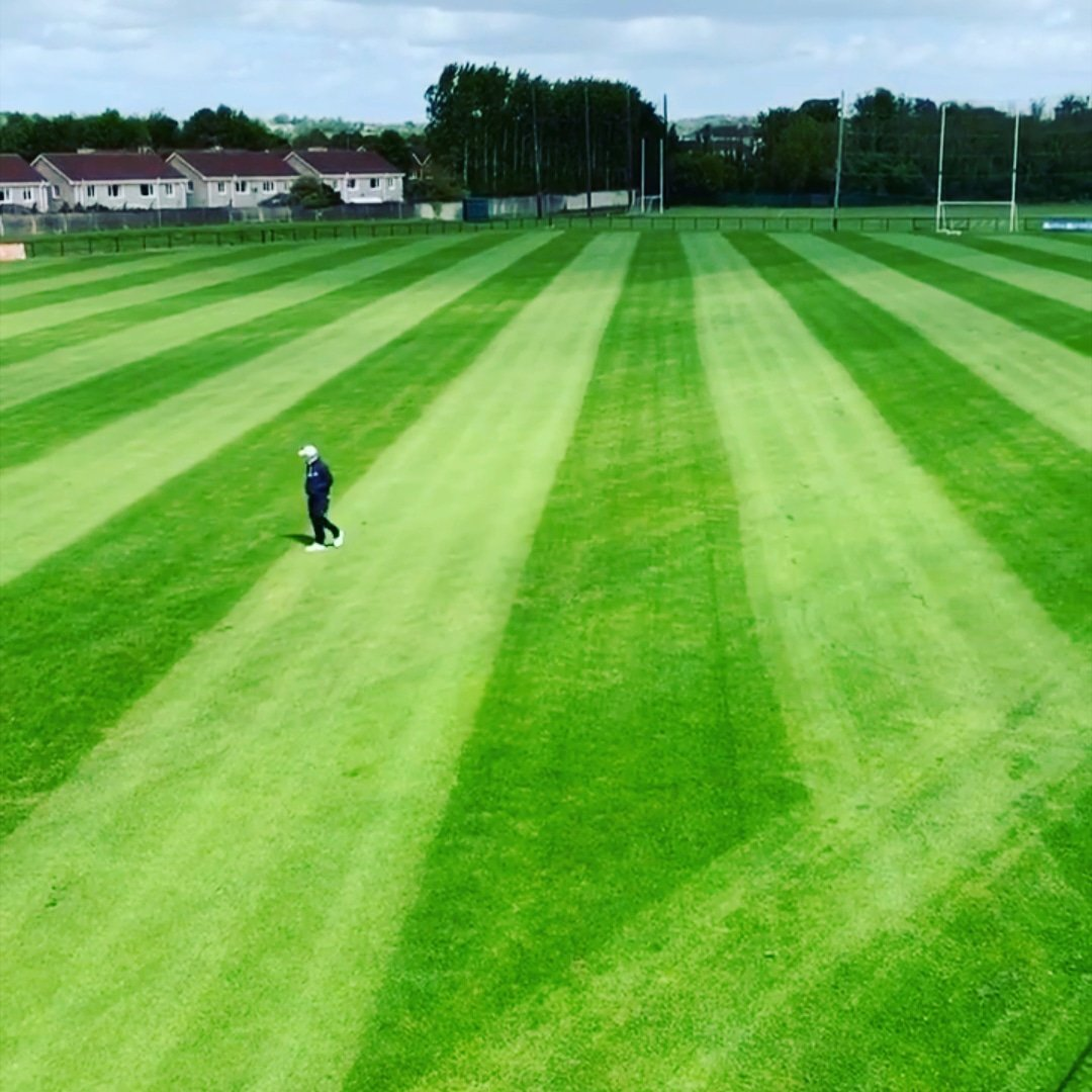 You won't find many club surfaces like Church Road. Unreal work by our volunteers. Ready and waiting...... #pitchproud @turftechcork<br>http://pic.twitter.com/QAFMpB2x1u