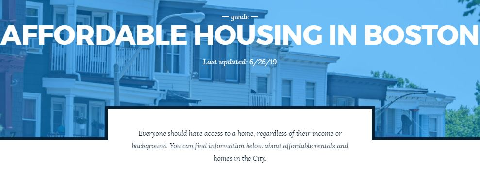 Everyone should have access to a home, regardless of their income or background. Here's information about affordable rentals and homes in the City:  http://boston.gov/affordable-housing…pic.twitter.com/zTxMAlRRPe