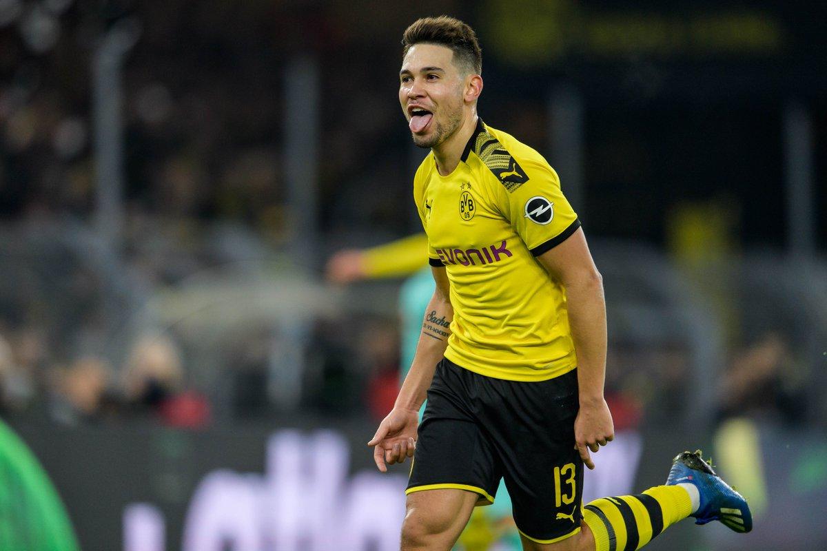 Raphael Guerreiro has scored three goals for Dortmund since the Bundesliga restart—from left wing-back  <br>http://pic.twitter.com/5de4HVIcWP