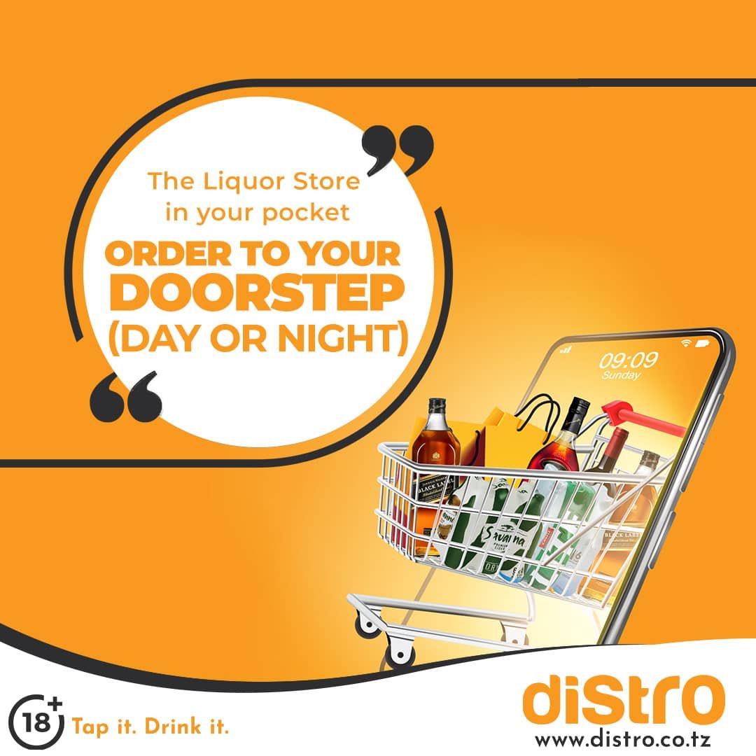 Distro, the liquor store in your pocket!  #Online #Liquorshopspic.twitter.com/qb5UBPcLLO