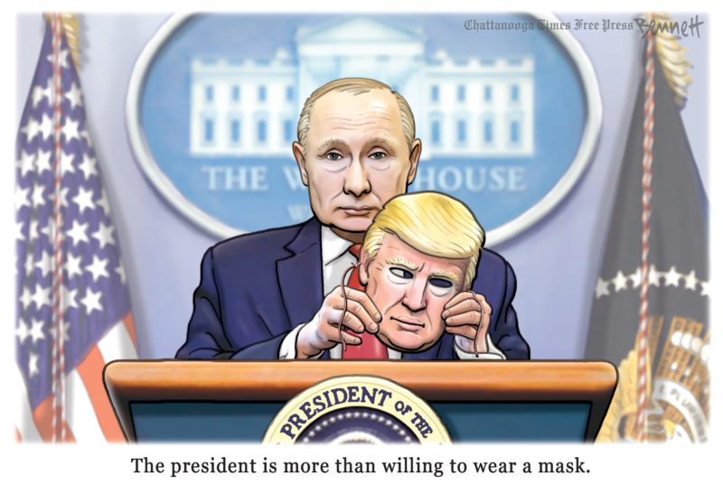 Actually, Trumps Been Wearing A Mask All Along via @BennettCartoons @televangelist @DNAtv @lordxmen2k @WhovianFeminism @Charger0843Rion @BrendaBalazs @ChaelMontgomery @ndrew_lawrence @Katpa73 @shangrilagirl @rickclem @rickonguam @Lynn_Henning @CorbieCrow @SheripetersonS