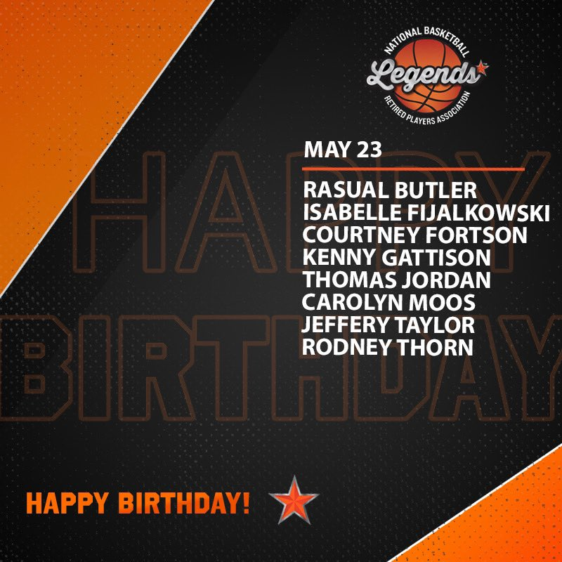 Wishing a HAPPY BIRTHDAY to these Legends, @Hoophall Inductee Rod Thorn and @NBAalumni Vice President Kenny Gattison 🎉   #LegendsofBasketball #NBABDAY #WNBABDAY #HOFBDays https://t.co/uWm7s6NfCn