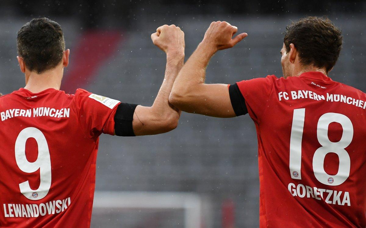 Bayern Munich 2-0 Eintracht Frankfurt HT: ⚽️ Goretzka ⚽️ Müller In complete control.
