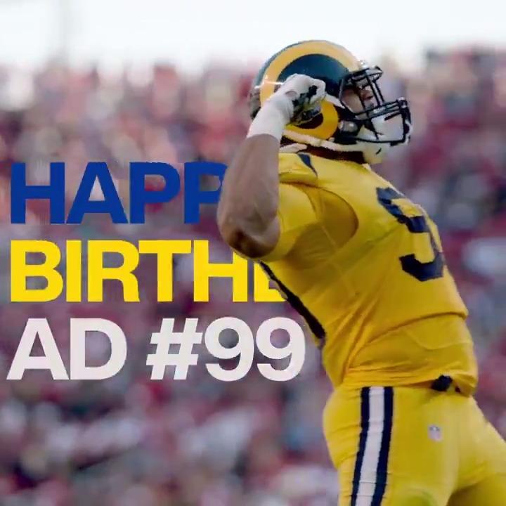 Wreaking havoc since 91. RT to wish @AaronDonald97 a happy birthday! 🎉