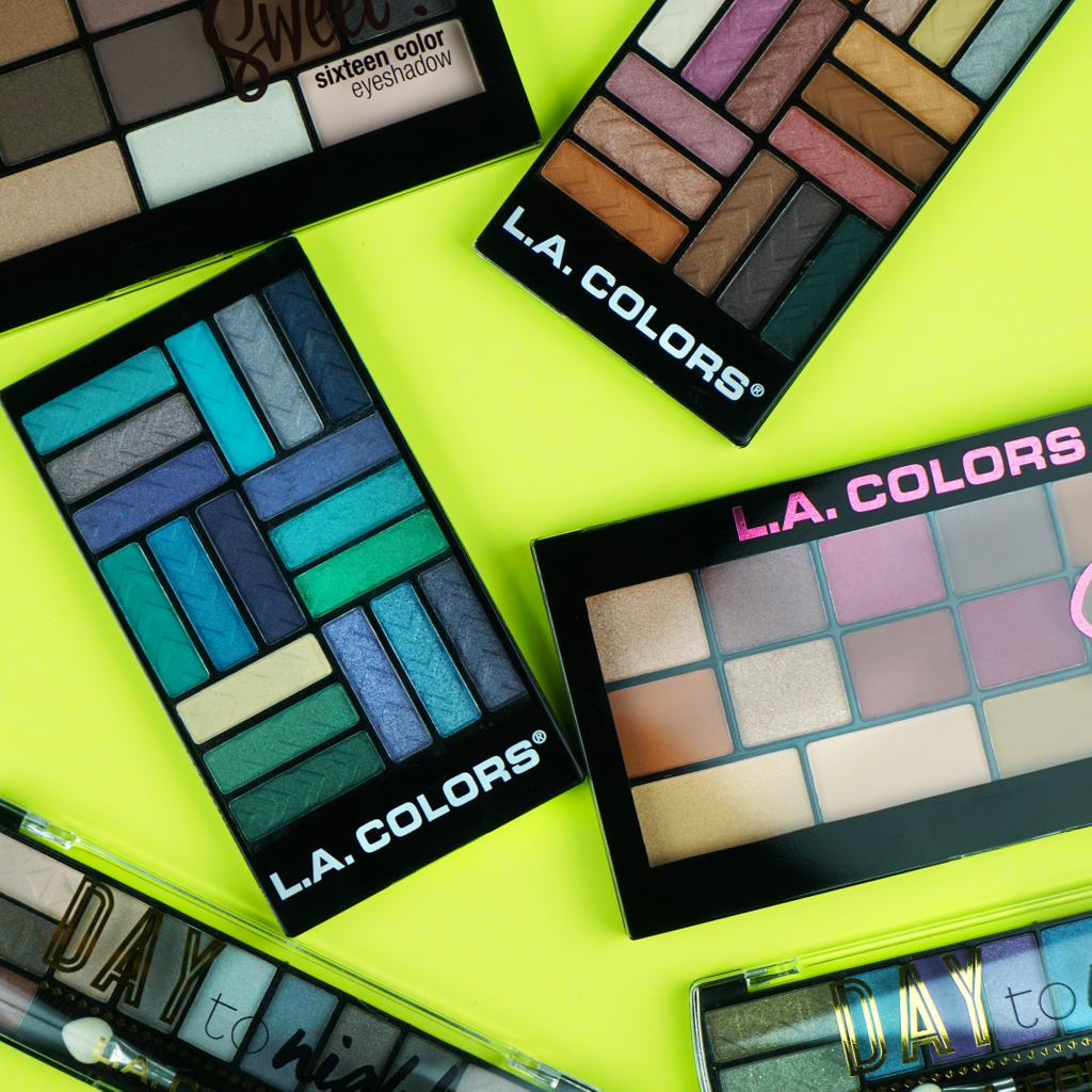 See your favorite eyeshadow palette?  Let us know which one in the comments!  . . . #LACOLORSCosmetics #LACOLORS #IMakeup #Affordable #CrueltyFree #AffordableMakeup #ColorfulMakeup #Pigmented #MakeupGoalspic.twitter.com/SWxh9f23ky
