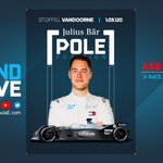 .@svandoorne claims the @juliusbaer Pole Position!  Julius Baer will donate €1000 to the Formula E Race at Home Challenge in support of @UNICEF.  Formula E has partnered with UNICEF to support children affected by the coronavirus crisis around the world. #RaceAtHome