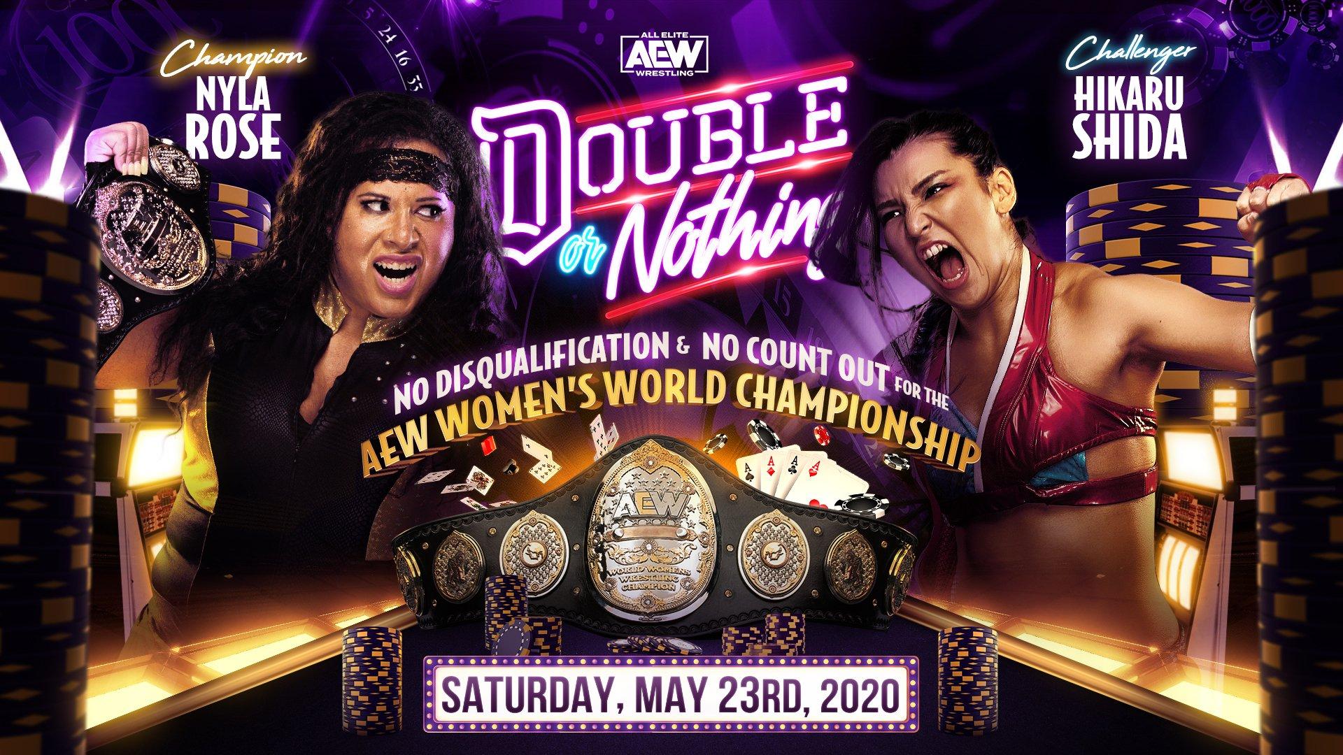 Hikaru Shida nueva campeona mundial AEW