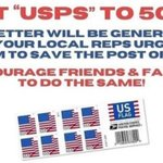 "Image for the Tweet beginning: RETWEET  Text ""USPS"" to 50409 to"