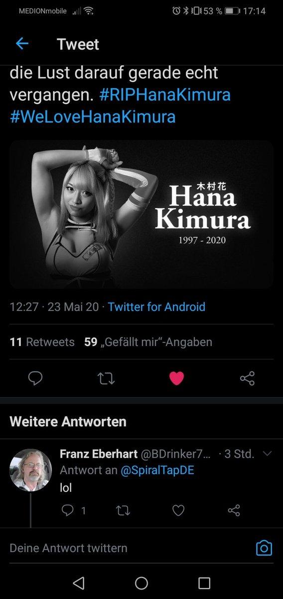 #RIPHanaKimura