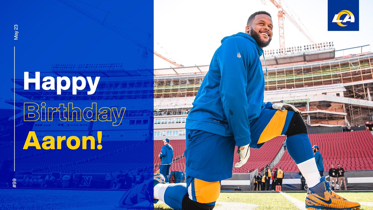 Happy birthday to the one and only @AaronDonald97! Here's to another year of dominating 😈