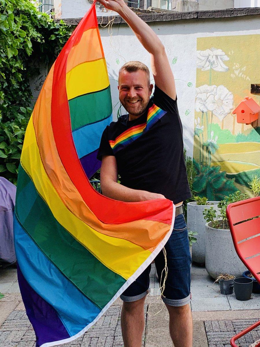 Because #WeCare. Celebrating @TheBelgianPride #ProudatHome @sp_a @RainbowRose_PES @cavariatweet #BelgianPride #COVID19 https://t.co/Zvjfwg1gSE
