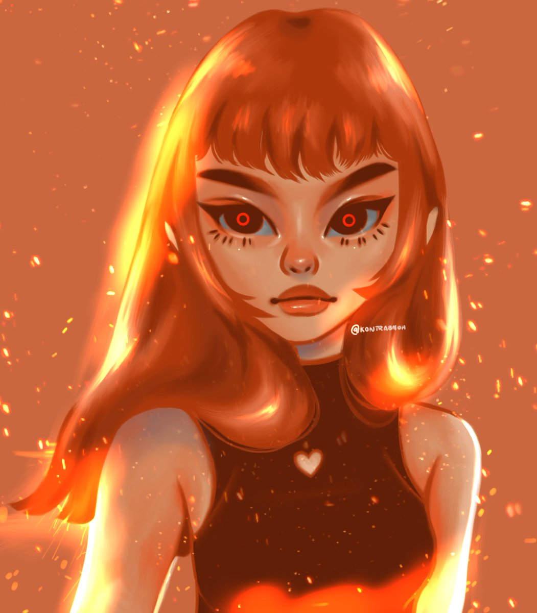 sorry for being ia :< here's my Flame Princess of Adventure Time fanart~ #artph #artistsontwitter #artpic.twitter.com/e9Kso8RhE8