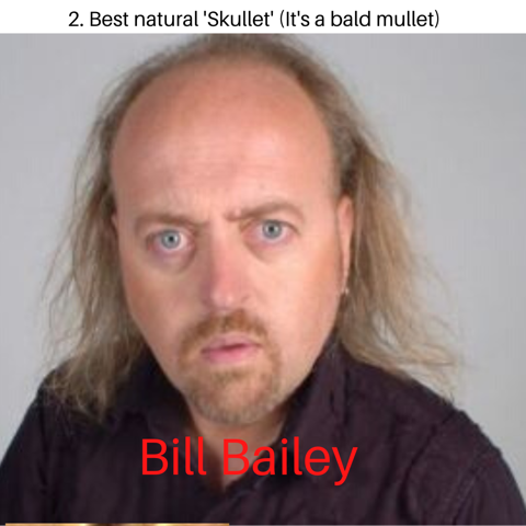 The Comedy Store London On Twitter The Second Pthornecomedian Baldisbeautiful Award For Best Natural Skullet Bald Mullett Goes To