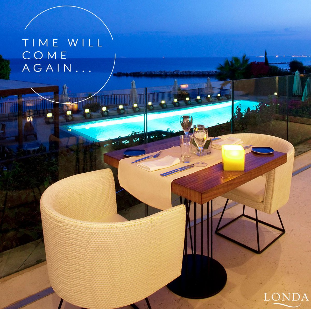 Stay alert and be ready because time will come again, when we will all be able to sit around the dinner table at Caprice @ Londa Hotel! #londahotel #londabeachhotel #limassol #cyprus #hotelsinlimassol #dinnertable #timewillcome #stayhealthy #besafe #weareready #capricerestaurant https://t.co/3BuzwcEhIS