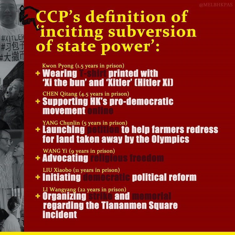 @nytimes Here's why HKgers are against National Security law, we do not hv democracy once the law is pass #SaveHK #OneCountryTwoSystemsIsDead https://t.co/sH4c6rbK42