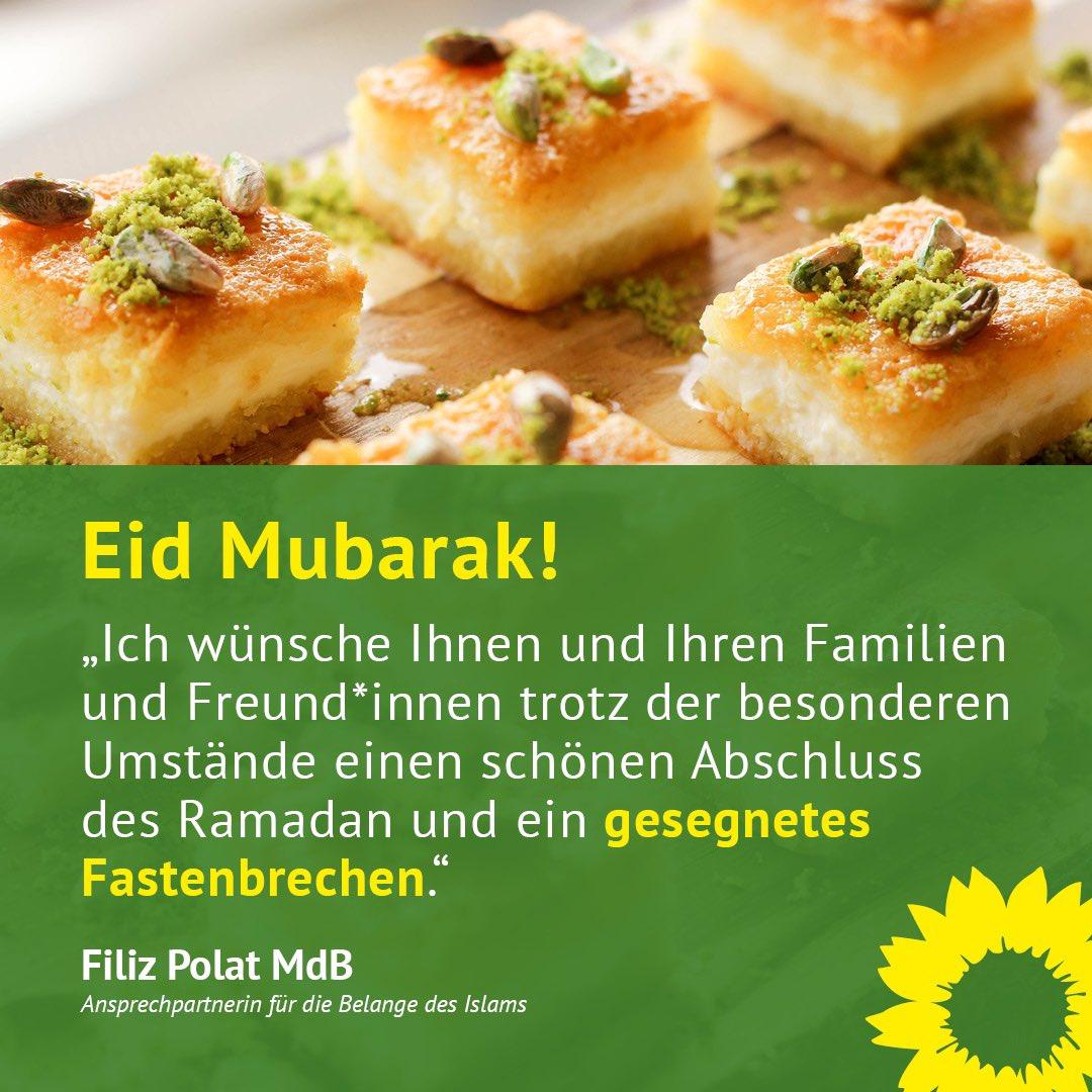 Heute endet der #Ramadan. Ich wünsche Ihnen ein gesegnetes Fastenbrechen! #EidMubarak