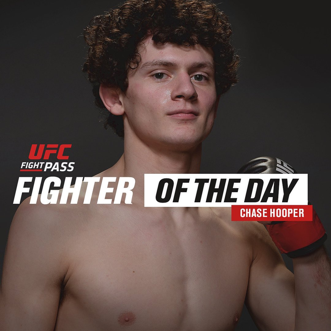 Go head over to @ufcfightpass and you can catch these curls right on the front page. You can see all of my fights from Contender to my debut at UFC 245, and everything in between 💪🏻🧑🏻🦱 https://t.co/ABkYEkqZN5