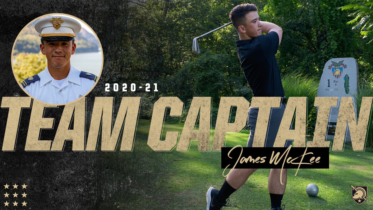 A 🎩 tip to our team captain for 2020-21‼️ A big honor for James McKee. #GoArmy