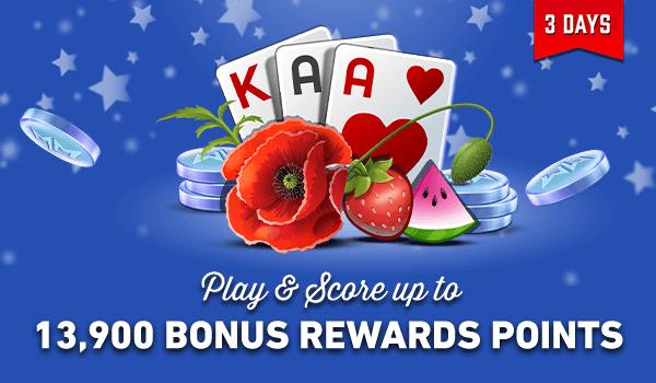 Celebrate #memorialdayweekend with 13,900 BONUS #rewardspoints! Kick back, relax, and score until Midnight ET Monday! 🎊🎉🎊 https://t.co/LR3oGrdnvA  #WinCash #CashGames #metime https://t.co/eTUB2fV3jW
