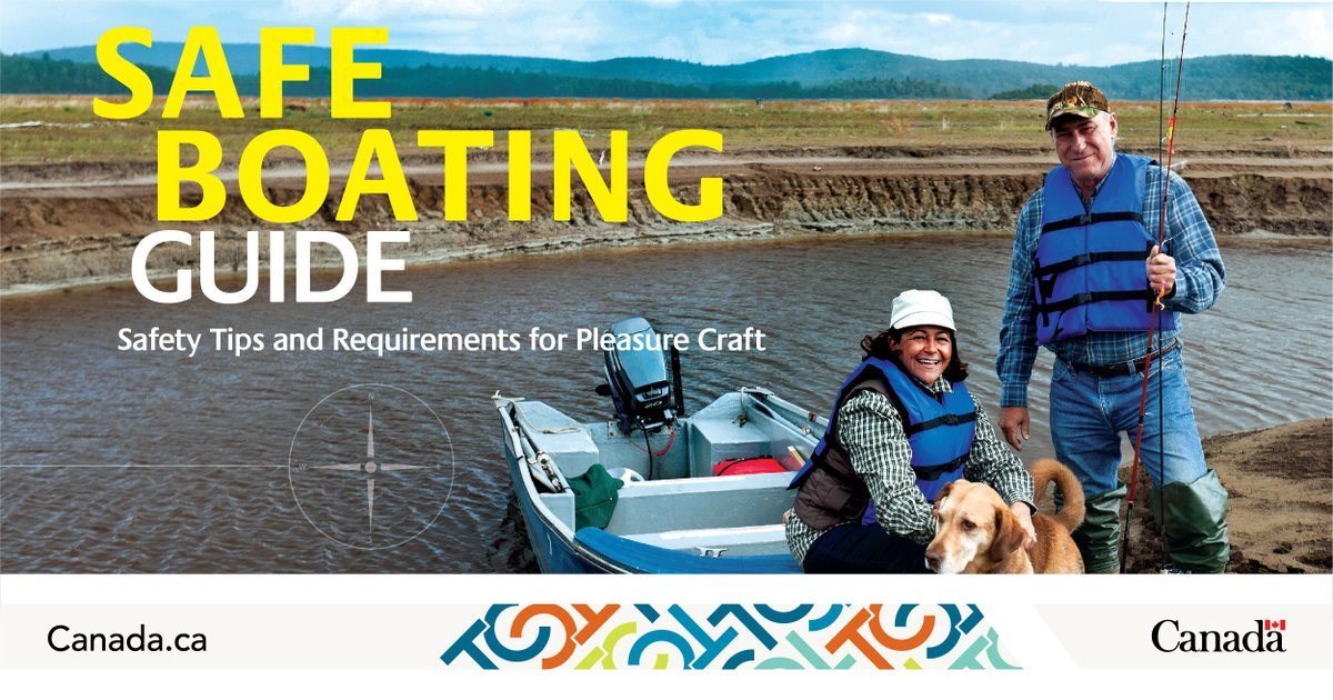It might be the last day of North American Safe Boating Awareness Week, but you must continue to practice #SafeBoating all year round! For up-to-date information, resources, and contact info, visit our website: https://t.co/pz3UWpK0UK https://t.co/nGvPMshmeD