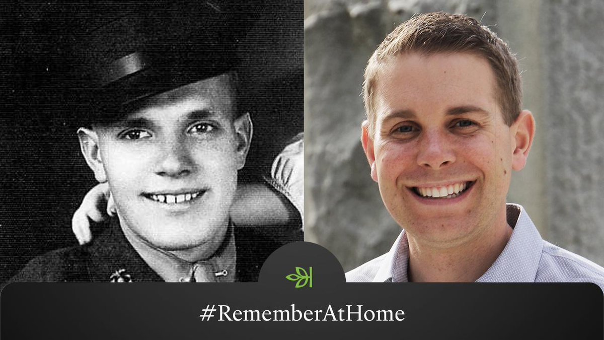 Ancestry® employee Eric Troff's great grandfather, Delbert L Johnson, was a Corporal in the 5th Marine Division, assigned one of the most difficult battles of WWII, Iwo Jima. Through Ancestry®, Eric was able to learn his story. Share your story with #RememberAtHome to join us.
