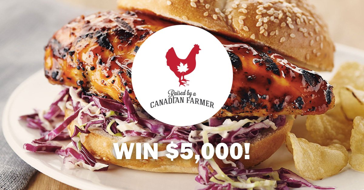 Enter to Win the Start Your Summer with $5,000 Contest from @chickenfarmers! https://t.co/Q1DaDWCKZO #chickendotca #pouletca https://t.co/WN7vSPFi31