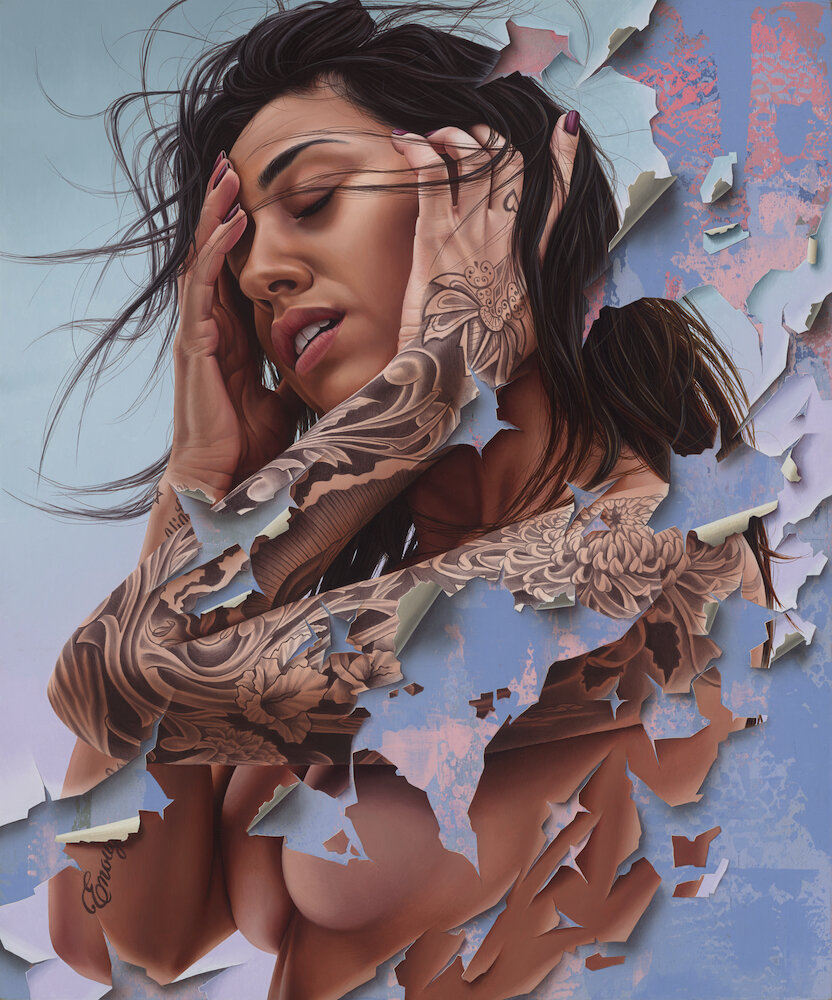 ... in difficult moments it seems that the soul is broken... but if you are strong everything will become like a sign on the skin... a piece of history, your history. Art by James Bullough #StreetArt #Art #Soul #Beauty #tattoo #Broken #Graffiti #Mural #UrbanArtpic.twitter.com/qONwOFPLM6
