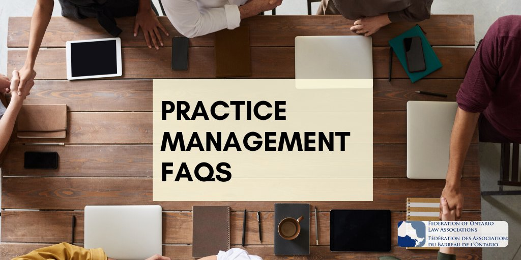 From questions regarding virtually commissioning documents to permission to record virtual meetings, get all your Practice Management FAQs addressed! Details at: http://fola.ca/mag #VirtualMeetings #workingfromhomepic.twitter.com/bkZkrhGBkI