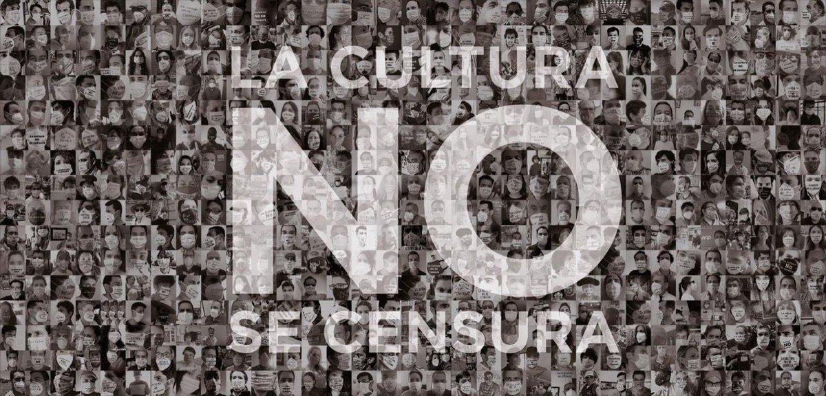 Cultura popular: Conjuntodelasmanifestaciones en queseexpresalavidatradicionaldeun pueblo! #MinistrodeCensura  @jmrdezuribes @culturagob https://t.co/zGYEySDYTx