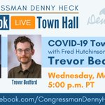 Image for the Tweet beginning: TOWN HALL: @fredhutch researcher Trevor