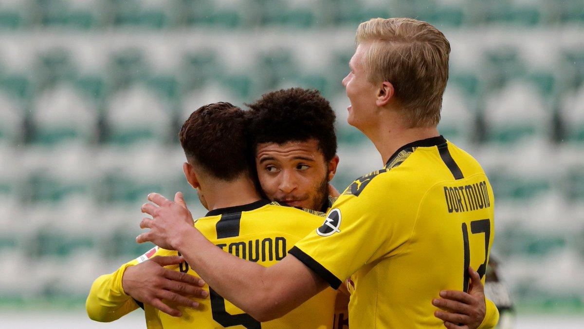 Xem lại Wolfsburg vs Dortmund, Bundesliga – 23/05/2020